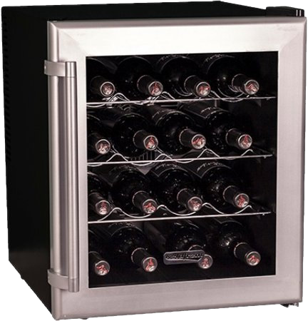 16 Bottle Wine Cooler with Thermoelectric Cooling