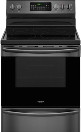 Frigidaire Gallery Smooth Surface Freestanding 5-Element 5.7-Cu Ft Self-Cleaning True Convection Electric Range